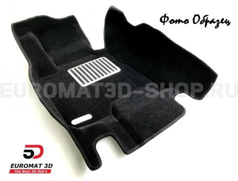 Текстильные 5D коврики с высоким бортом Euromat3D в салон для Bmw X1 (E84) (2009-2015) № EM5D-001208