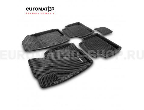 3D коврики Euromat3D EVA в салон для Hyundai i40 (2011-2016) № EM3DEVA-002912