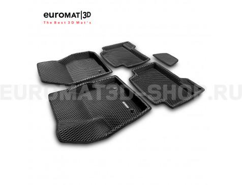 3D коврики Euromat3D EVA в салон для Ford Kuga (2013-) № EM3DEVA-002210